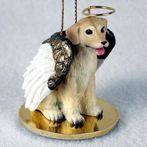 YELLOW LAB LABRADOR ANGEL DOG CHRISTMAS ORNAMENT HOLIDAY Figurine Statue - $12.98