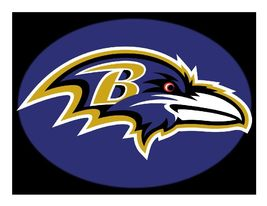 Baltimore Ravens Football Edible Cake Image Cake Topper - $8.98+