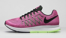 NIKE WOMEN'S AIR ZOOM PEGASUS 32 SHOES SIZE 6 pink pow black green 74934... - $64.97