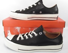 Converse Chuck Taylor All Star 70's Ox Low Classic BLACK LEATHER 151156C - €61,14 EUR