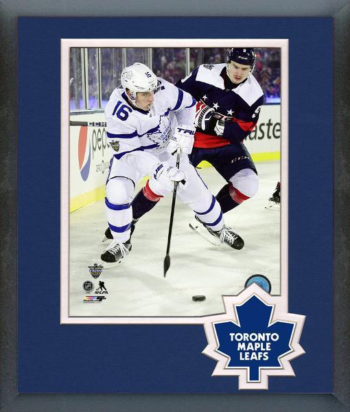 Mitch Marner Maple Leafs 2018 NHL Stadium Series -11x14 Matted Framed Photo 8e52ed99c