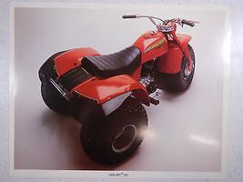 80 Honda ATC185 Nos Oem DEALER'S Sales Feuille Literature Brochure - $90.08