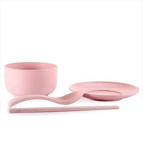 Kylin Express Creative Japanese Small Barley Rice Bowl, Household Wheat Straw Ut - $15.18