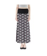 Women's Funny French Bulldog Dog Printed Stretchy Fit Maxi Skirt (XS-3XL... - $28.99+