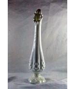 """Fenton 1970's Hobnail Bud Vase 10"""" - $6.92"""