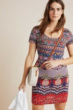 NWT ANTHROPOLOGIE FARM RIO GEORGINA MIDI DRESS L - $132.99