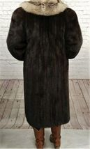 Vintage Authentic Christian Dior Fourrure Brown Fur Coat Size Unknown image 3