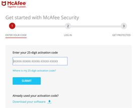 mcafee total protection 2018 activation