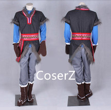 Custom-made Kristoff Costume Outfit Halloween Cosplay Costume - £100.80 GBP