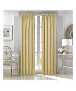 Queen Street New York Sutherland 50in X 95in 1 Pole Top Drapery Panel Gold - $35.00