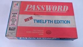 EUC 1970 Milton Bradley 12th Edition Password Word Association Fun Famil... - $7.97