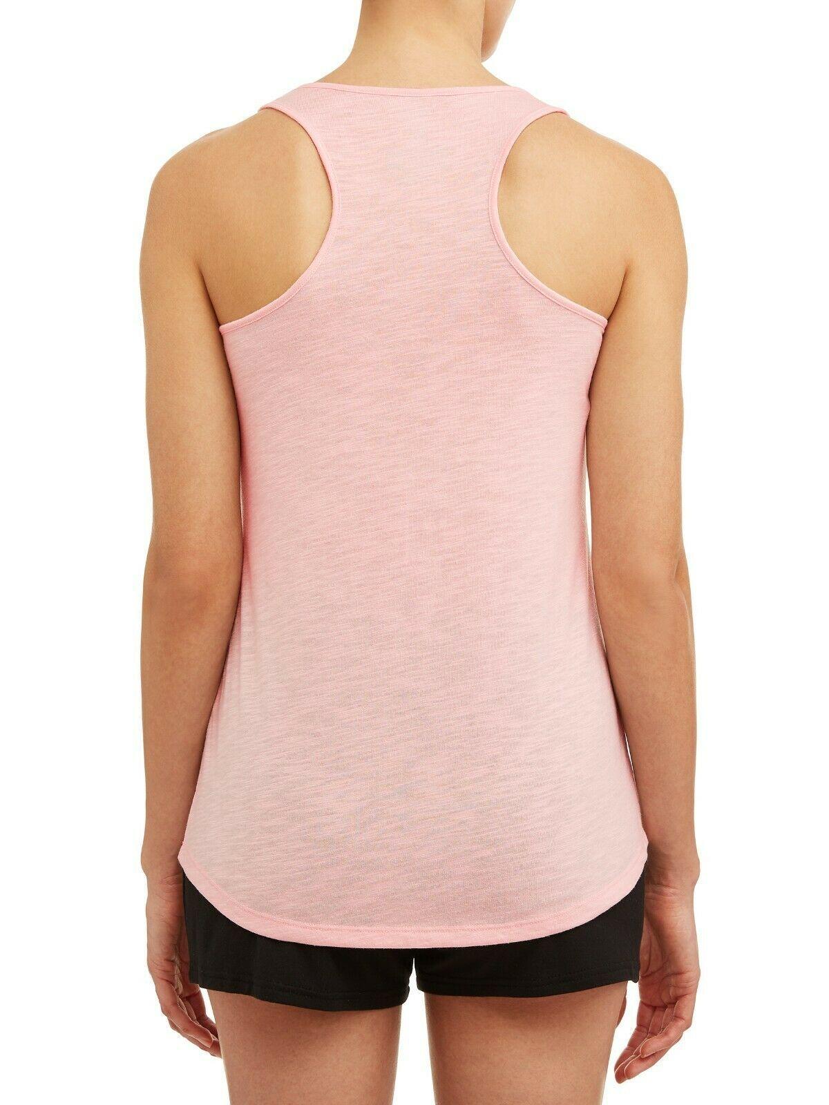 NEW Womens Sleep Shirt Pajamas Plus Size XL 16-18 Tank Top PJs Love Naps