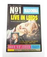 No 1 Magazine August 22 1987 British Import Madonna Live in Leeds Exclusive - $38.61