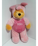 "Disney  Winnie the Pooh Build-A-Bear 18"" W/Piglet Costume - $29.96"