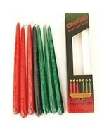 Kwanzaa Candle Set (Red, Black, Green) 12 Candles - $21.77