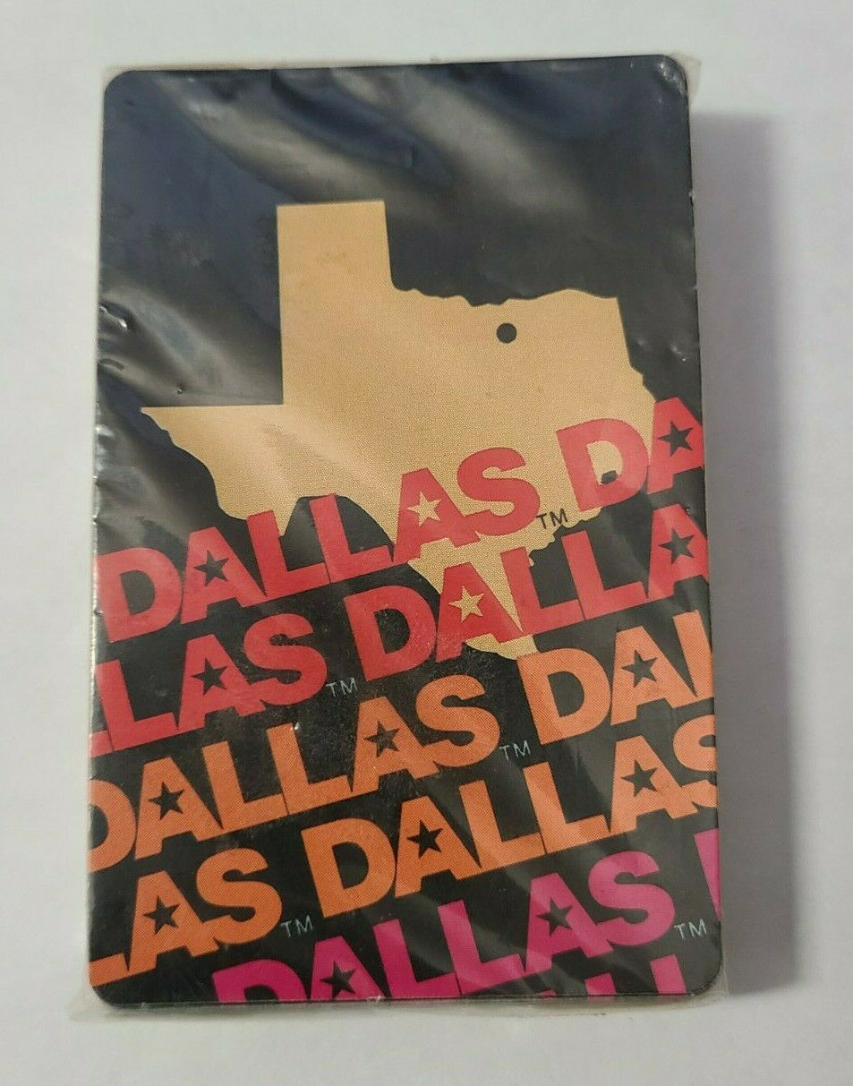 State of Texas Dallas Souvenir Deck of Playing Cards Never Opened (28)
