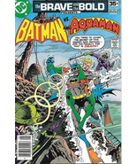 Brave and the Bold Comic Book #142 DC Batman and Aquaman 1978 NEAR MINT - $10.69