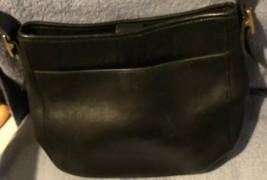 COACH Black  Saddle Bucket Shoulder Bag B9D 6003  Boho Hobo - $48.97