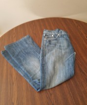 Rock and Republic womens roth style size 27 jean light wash flare 29 - $8.59