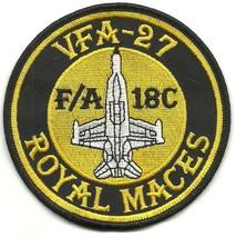 US Navy VFA-27-F-A-18C-Hornet Royal Maces Vintage Patch - $11.87