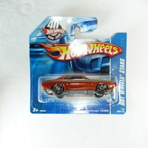 Hot Wheels '70 Dodge Challenger Hemi Hot Wheels Stars short card (orange... - $8.90