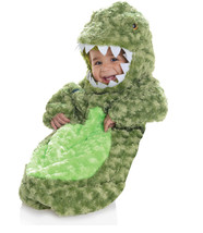 Ste T-Rex Dinosaure Peluche Banderoles Bébé Déguisement Halloween 25855 - £20.49 GBP
