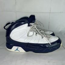 Nike Air Jordan 9 Retro Size 3Y UNC Basketball Sneaker University Blue W... - $30.00