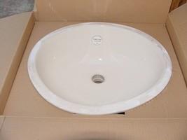 American Standard Ovalyn Bone Undercounter Sink 0495221 Vitreous China 1... - $46.40