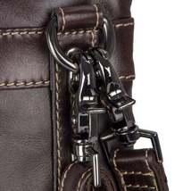 Sale, Vertical Messenger Bag, Vintage Leather Messenger Bag, Men Large Messenger image 5