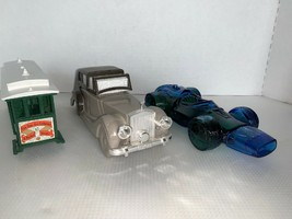 Vintage Avon Cable Car Rolls Royce And Race Car - $12.00