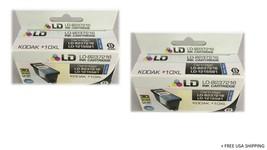 (2) LD-8237216 KODAK 10XL Ink Cartridge High Yield Black - $17.81