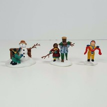 "Department 56 Heritage Village Collection ""Playing in the Snow"" Accessor... - $18.00"