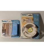 Safety 1st lever handle lock & Furniture Wall Straps Combo Child Resista... - $14.69