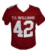 Bertier #42 T.C.Williams The Titans Movie New Football Jersey Maroon Any... - $49.99+