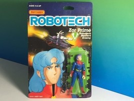 1985 MATCHBOX ROBOTECH ACTION FIGURE MOC ANIME MECHA ZOR PRIME MASTERS E... - $38.36
