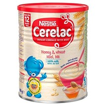 Nestle Cerelac, Honey and Wheat with Milk, 14.11 Ounce Can - $18.39