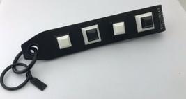 Victoria's Secret Schwarz und Weiß Handgelenk Band,Schlüsselanhänger,Tas... - $24.92