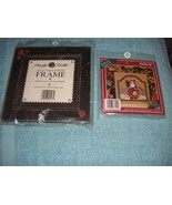 Mill Hill Button & Bead Kris Kringle Cross Stitch And Hand Painted Frame - $25.99