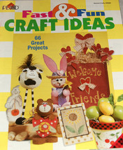 Plaids Fast & Fun Craft Ideas Book 66 Projects Patterns #9560 Flaws Noticed. - $4.45
