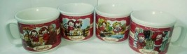 VINTAGE 1998 CAMPBELL'S LARGE SOUP MUGS(SET OF 4)DISHWASHER/MICRO SAFE!! - $42.56