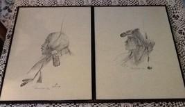 SET 2 Raymond Judge Chief&Princess Prints pencil Signed #, LE, AZ Navajo... - $95.00