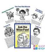ASK THE WISE FOOL CARDS DECK CREATIVITY ROGER VON OECH US GAMES SYSTEMS NEW - $43.55