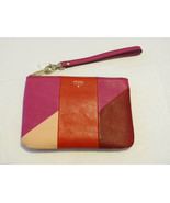Fossil SL4853995 Giftable Patchwork Petit Dragonne Pochette Red Multi Cu... - $31.99