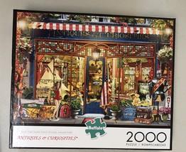 Buffalo Games Jigsaw Puzzle 2000 Pieces Antiques and Curiosities with Poster image 1