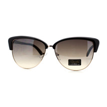 Giselle Lunettes Womens Sunglasses Cateye Top Fashion Eyewear - $9.95