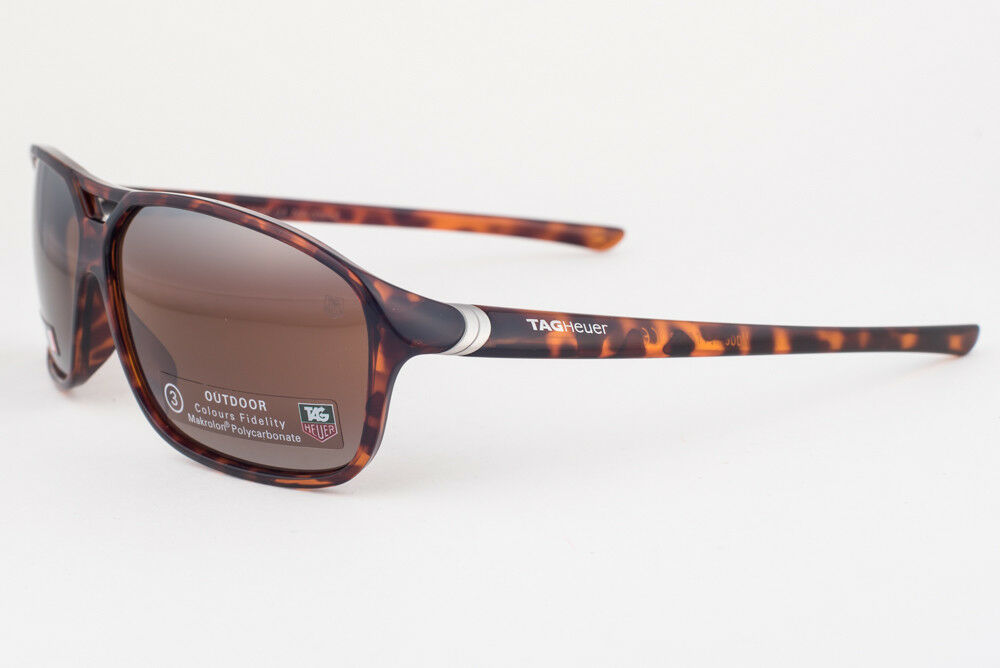 Primary image for Tag Heuer 27 Degree 6044 Tortoise / Brown Sunglasses TH6044 211
