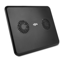 Heavy Duty Cooling Pad, Built-in Fans Portable Laptop Cooling Pad, Black - €13,20 EUR