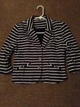 Express-striped-blazer-sport-coat-jacket-for-woman-Size-small. - $13.86