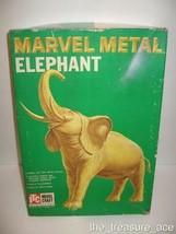 ~1960~Marvel Metal Elephant Box~Itc Model Craft~Animal Series~Ideal Toy Corp~ - $18.88