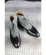 Handmade Men Tan Color Jodhpurs Leather Boot, Men Jodhpurs Ankle Boots, ... - $169.99+